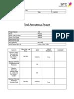 4G1 LTE Final Acceptance Summary Report_TMK265