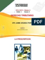 SEMANA 4- La Prescripcion