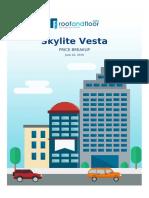 Skylite Vesta TruePrice Estimate
