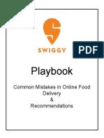 Playbook Restaurants