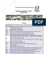 Calendar i o Academic o Presencia l 2019