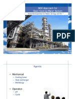Microsoft PowerPoint - MOC Approach for Open Cooling Water System
