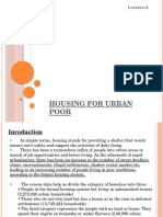 Housing for urban poor