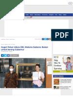 Gugat Polusi Udara DKI, Melanie Subono_ Bukan Untuk Serang Gubernur