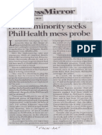 Business Mirror, Aug. 1, 2019, House minority seeks PhilHealth mess probe.pdf