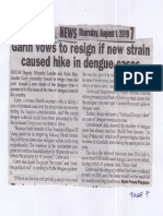 Peoples Journal, Aug. 1, 2019, Garin vows to resign if new strain caused hike in dengue cases.pdf