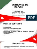 Electrones de Bloch