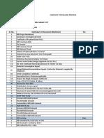 Billing Checklist