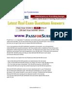Free 98 365 Exam Questions PDF Microsoft