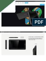 XP-Pen Artist 12 Moniteur pour Tablette Graphique de 11,6 Pouces Écran