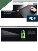 XP-Pen Star 06 Tablette graphique sans fil pour la peinture