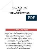 3.Full Costing Dan Variabel Costing