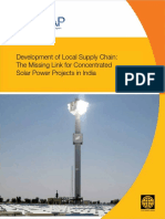 Development of Local Supply Chain