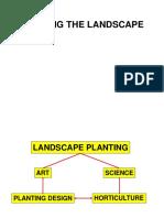 Landscape Lecture 101