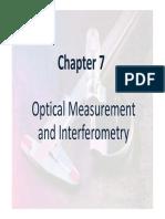 optical measurment