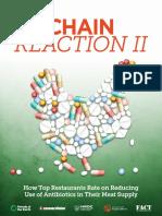 Restaurants Antibiotic Use Report 2016