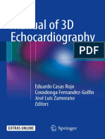 Manual of 3d Echography