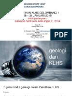 20180129 Geologi Dan KLHS