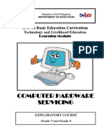 Pc Hardware Servicing Learning Module