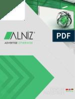 Alniz Display Catalogue - 2019