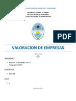 Valoracion de Empresas (Conta 2)