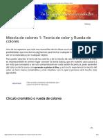 01 Mezcla de Colores Teoría Del Color _ Pintar Al Óleo