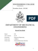 Thermal Manual