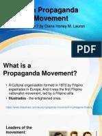 The Propaganda Movement history report.pptx