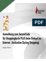 Securecode Registrierung Scplus Data