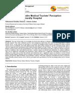 Muslim Medical Tourist