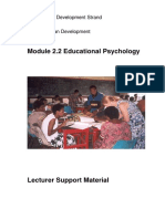 Pd Hd 2 2 Educational Psychology Lecturer
