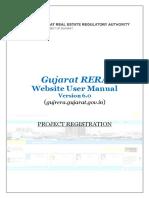 User Manual Project Registration v6