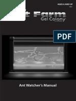 Illuminated Ant Farm Gel Colony Manual