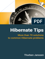 Thorben Janssen, Steve Ebersole - Hibernate Tips_ More Than 70 Solutions to Common Hibernate Problems-CreateSpace Independent Publishing Platform (2017)