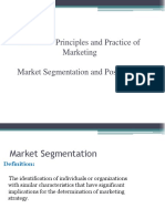 Lecture - Market Segmentation and Positioning (1) (1)