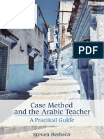 Case Method and the Arabic Teacher a Practical Guide