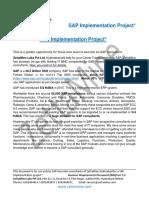 Prime Pharma Inc BRD - Ver 1.0