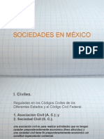 Sociedades en Mexico