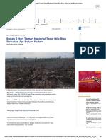 Sudah 3 Hari Taman Nasional Tesso Nilo Riau Terbakar, API Belum Padam