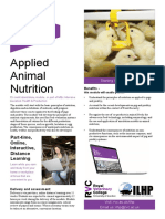Applied Animal Nutrition