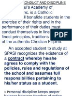 Code of Conduct and Discipline [Autosaved]