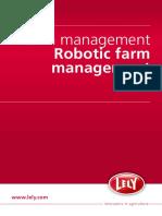 Farm Management- Robotic Farm Management- Lely