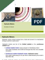 4 Hydraulic Motors