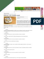Dieta Pe 7 Zile Cu Puţine Calorii _ Articole _ Click Pentru Femei!
