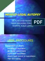 Medico Legal Autopsy