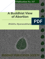 Bl117 Nyanasobhano a Buddhist View of Abortion