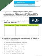 Exercícios Gramaticais