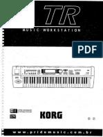 Manual Korg Tr