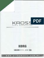Manual Korg Kross