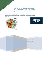 Papel Del Factor Lif en La Respuesta Tumoral. Desarrollo de Anticuerpo Anti Lif